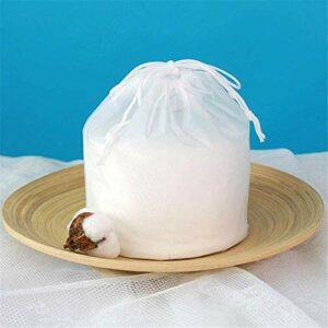 Serviette de nettoyage jetable 100% coton doux tampon de coton pour les yeux démaquillant et vernis à ongles nettoyage visage lingettes pour utilisation humide/sec visage cxjff