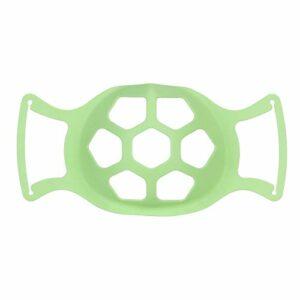 Support De Masque 3D, 2PC Coque pour Masque Support Protection en Silicone Support de Protection pour Rouge à lèvres, Coussin intérieur de Masque, Coussinet Nasal pour la Bouche et Le Nez