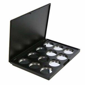 T TOOYFUL Boîte de Maquillage Magnétique Vide pour Poudre Compact Fard à Paupières Rouge à Lèvres Cosmétiques