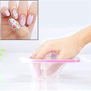Taosheng Bol de trempage pour ongles – Bol de trempage pour le nail art – Bol de traitement utilisé pour manucure et spa