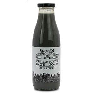 Van der Lovett – Mousse de bain – Grey Edition 750 ml, mousse pour le corps, mousse parfumée Van der Lovett