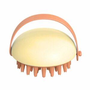Xiaomu Brosse de douche multifonction en silicone souple – Brosse de massage pour cuir chevelu – Humide et sec – Brosse de massage en silicone – Soin des racines des cheveux