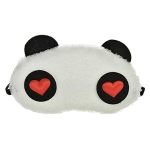 1 pièces en peluche mignon gris chat masque pour les yeux masque de sommeil ombre pour les yeux bandeau bandeau pour les yeux cache-œil adapté pour voyage maison cadeau, 4