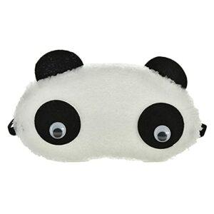 1 pièces en peluche mignon gris chat masque pour les yeux masque de sommeil ombre pour les yeux bandeau bandeau pour les yeux cache-œil adapté pour voyage maison cadeau, 5