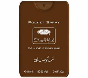 1STOPBABYSTORE Parfum-poche Eu De Toilette Spray Arabe parfum Voyage Pulvérisateur 18 Ml Attar Choco-musc