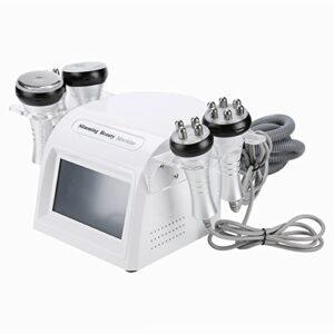 5 en 1 dispositif de beauté radiofréquence avec le massage sous vide cavitation ultrasonique 40k pour l'enlèvement graisse professionnel Diminuer corps cellulite formant dissolvan(EU)