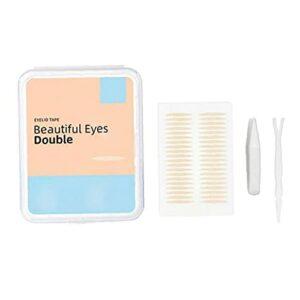 600Pairs invisibles Double TyeLid Ruban Naturel Invisible Eye respirant Bubbles à oeil de paupière Tubes de maquillage Toop Toopy Eyelid Stickers