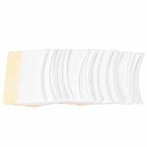 80 pcs Yeux Ombre Bouclier Sous Coussin, Outils De Maquillage Coton Beauté Garde Jetable Cils Extension Patch Autocollants