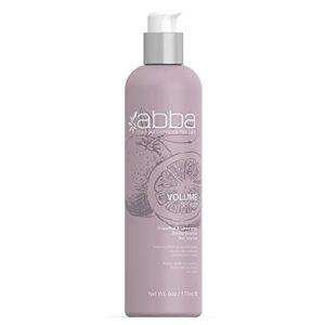 ABBA Pure Volume Sérum Pamplemousse/Citronnelle Volume/Tenue pour Cheveux Fins/Mous Soins Capillaires Ajoute du Corps Protège Les Cheveux des Dommages Causés par Chaleur, 177 millilitre