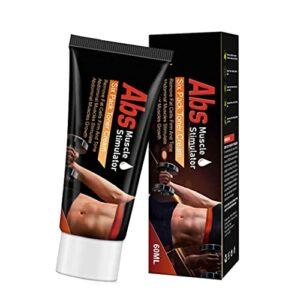 Abdominale Cream Burner Muscle Stimulateur Muscle Stimulateur Crème Cellulite Body Crème amincissant, lait corporel