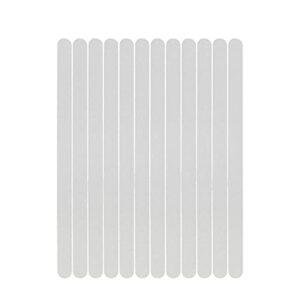 Autocollants pour ongles 30pcs antidérapant STROUCHES transparentes autocollants de douche de bain Bandes de sécurité Bandes non glissées pour baignoires Sols d'escaliers Décoration des ongles