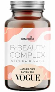B-BEAUTY COMPLEX avec Vitamine et BIOTINE CHEVEUX | COMPLEMENT ALIMENTAIRE idéal comme ANTI CHUTE DE CHEVEUX FEMME | Effet Repousse et POUSSE CHEVEUX TRÈS RAPIDE | Biotin pour le soin des cheveux