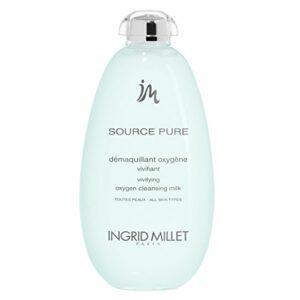 Beauté Ingrid Millet Source Pure Démaquillant oxygène, émulsion de nettoyage 400ml