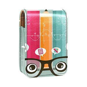 Boîte de rangement de rouge à lèvres Boîte d'emballage,lunettes crayon de connaissances