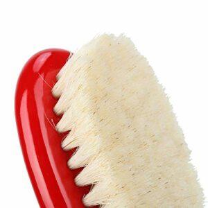 Brosse à barbe à poils portative, mine de cheveux de la barbe design de manie de cheveux 2cm cheveux chevaux faits