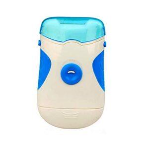 Brosse de bain Tondeuse à ongles électriques et file à ongles, outil de pédicure de manucure électronique, clous de file et couper les clous à la main sans effort Corps de bain ( Color : Blauw )
