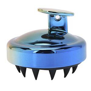 Brosse de lavage de cheveux, brosse de shampooing douce avec conception de trou de suspension rond pour les enfants pour la maison pour les cheveux(Penté)