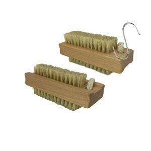 Brosse exfoliante pour peaux sèches – Brosse pour le corps – Poils naturels – Suppriment les peaux mortes et les toxines – Traitement de la cellulite
