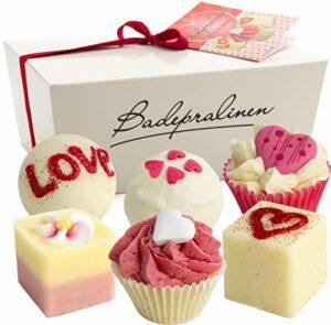BRUBAKER Cosmetics Boules de bain – 6 Pièces – Coffret cadeau 'Wild at Heart' – Vegan