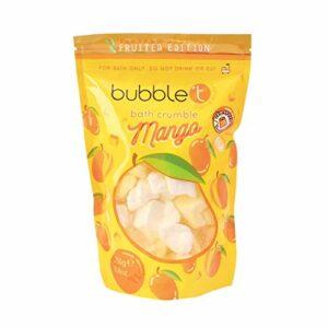 Bubble T Bombe de bain crumble à la mangue – Contient des huiles essentielles, végétaliens, sans cruauté envers les animaux, 250 g