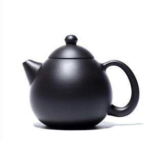 CAIZHIXIANG 210ml Yixing Violet Argile Teams Maître Master Tea Pot De Tea Raw Mine Black Mud Beauté Bouée Chinoise Tea Set