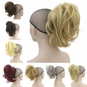 Clip de Queue de Cheval de Griffe dans Les Extensions de Cheveux pour Femmes Accessoires de Maquillage de pièce de Cheveux synthétiques à Haute température pour Femmes