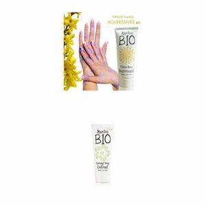 Duo de produit de beauté MARILOU BIO – Crème pour les mains nourrissante – Gommage visage