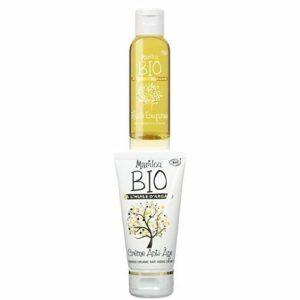 Duo Produit de beauté MARILOU BIO – Gamme Argan -Huile Exquise à l'huile d'Argan – Crème anti age