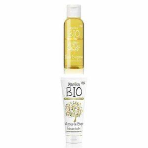 Duo Produit de beauté MARILOU BIO – Gamme Argan -Huile Exquise à l'huile d'Argan – Lait pour le corps