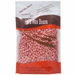 Elite99 Solid Depilatory Grain Démaquillant Profession pour le corps Hard Wax Beans Lavande pour Hommes Femmes 300g / sac
