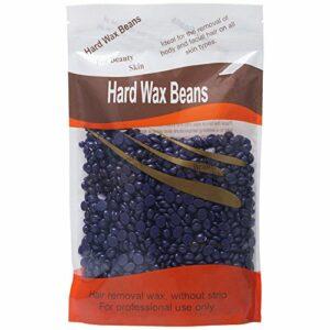 Elite99 Solid Depilatory Grain Démaquillant Profession pour le corps Hard Wax Beans Lavande pour Hommes Femmes 300g / sac(Rose)