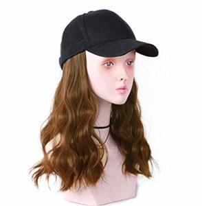 Femmes aux Cheveux Blancs ou clairsemés Extensions de Cheveux ondulés de 18 Pouces pour Femmes Accessoires de Maquillage
