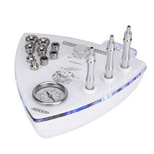 Fhdisfnsk Machine de Dermabrasion de Microdermabrasion de Diamant 3 en 1, Équipement de Salon de Beauté Facial À Usage Domestique Professionnel