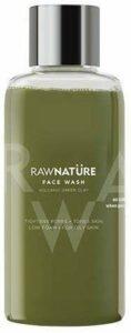 Glamorous Hub Raw Nature Nettoyant pour le visage Argile volcanique verte naturelle 60 g (peau grasse appropriée)