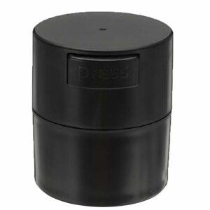 Haude Boîte de rangement pour colle à cils 4 compartiments Noir