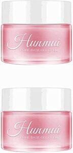 Hicollie Lot de 2 flacons de crème pour le visage sous le fond de teint, rétrécit les pores, élimine les ridules, hydratant, raffermissant, anti-oxydation