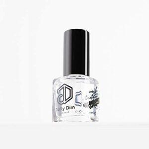 Jolly Dim by Inglot Top coat pour vernis à ongles. Effet brillant intense. Séchage rapide