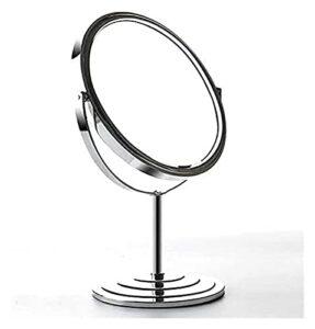 JSY Miroir de Maquillage de 7 Pouces 1X & 3X Grossissement avec Rotation à 360 degrés pour comptoir de la vanité Miroirs à Main