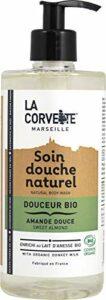 La Corvette – Soin Douche Douceur Bio Amande Douce – 500ml