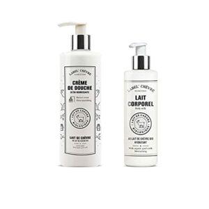 Label Provence- Duo au lait de chèvre Bio – Crème de douche (400ml) + Lait corporel (250ml)