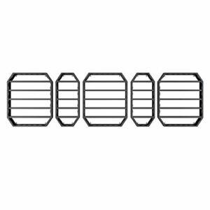 LHY-Shelf LJ 6 Niveaux de Stockage de Vernis à Ongles – étagère Murale en métal pour Vernis à Ongles, huiles essentielles et Stockage et Affichage de Maquillage – Stockage de Bouteilles Mural