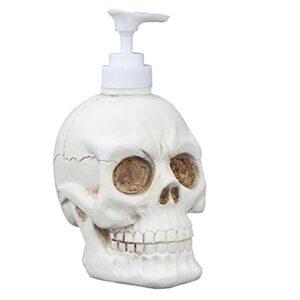 Liquid Distributeur Bouteille Vintage Skull Shaine Shampelle Bouteille Shampooing Body Lave-linge Douche Gel Douche Titulaire De Stockage Articles De Toilette Liquide Pour Salle De Bain, Décoration