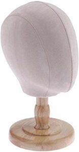 Mannequins Maquillage Styling Hat Head Rack Cap Perruque Affichage Support à Beige