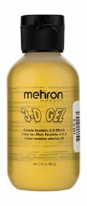 Mehron Gel maquillage 3D (2 onces) (Clear)