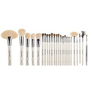 MERCB Ensembles de pinceaux de Maquillage 26 pinceaux de Maquillage Portables Outils de Maquillage pour débutants en Laine Super Douce Ensemble Complet de Sac cosmétique Professionnel