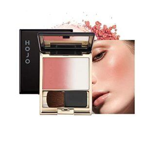 Mimore Palette de fard à joues Maquillage blush de cosmétiques de poudre de gradient,Fard à joues durable,Fard à joues de maquillage chatoyant,Poudre de maquillage portable longue durée