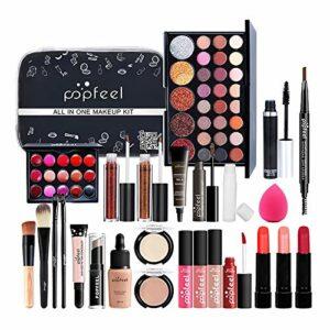 Minimei Kits de Maquillage Professionnels pour Ados Coffret Cadeau de Maquillage pour Adolescentes et Femmes Kit de Maquillage kit de démarrage Complet pour débutants ou Cosplay Stunning