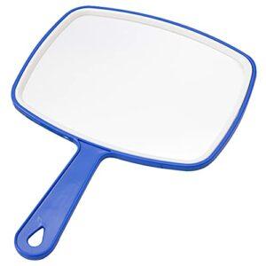 Miroir À Main Miroir Miroir Gratuit Miroir Miroir Miroir Miroir Maquillage Rasage Mural Suspendre Douche Coiffeurs Grand Taille Miroirs Bleu