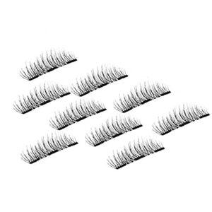 NiseWuds 2pcs 3D Mink Cheveux artificiels Cils artificiels naturels épais Longs Cils de Maquillage de beauté de beauté Outils de Curling Outils
