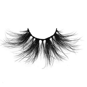 NiseWuds Mink Cils Longs 3D Cils artificiels Cils naturels épais Cils de Maquillage Outil de Maquillage 25mm style14 Outils de beauté